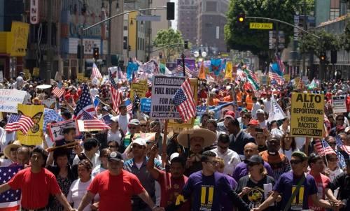 Marcha del Primero de Mayo del 2012. Foto? Antonio Nava.